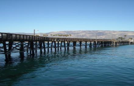 Goleta-Pier
